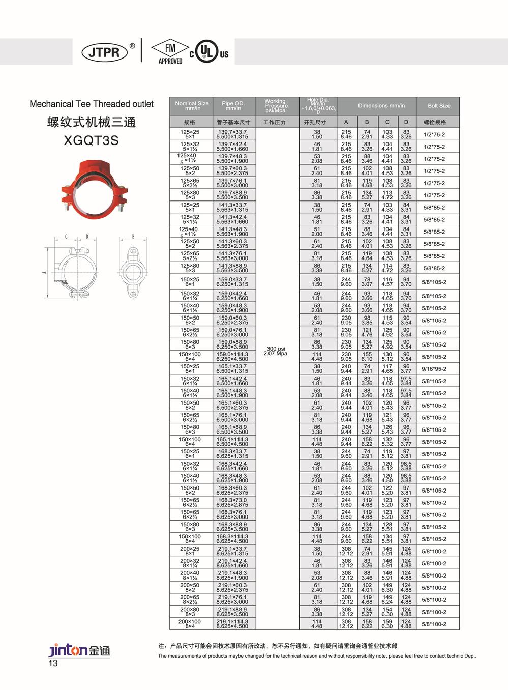 Mechanical Joint Ductile Iron Cap