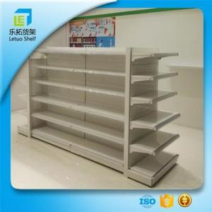Lt a305 Commercial Metal And Acrylic Shelving Used Stainless Steel     LT A305 commercial metal and acrylic shelving used stainless steel shelving  shop acrylic retail shelving