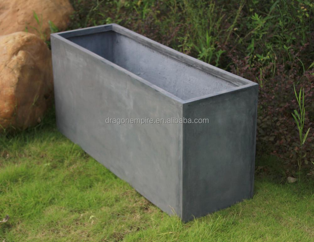 Tall Rectangular Planter Box
