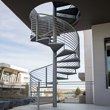 Outdoor Used Spiral Staircase Price Modern Prefabricated Spiral   Exterior Spiral Staircase For Sale   Roof   Outside   Unique Outdoor   Brick Outdoor   Backyard