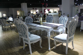 white elegant new design dining table and chair  wooden dining table     white elegant new design dining table and chair  wooden dining table