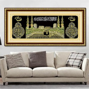 Islam Style House Picture Home Decor 5d Diy Diamond Painting   Buy     Islam style house picture home decor 5D DIY diamond painting