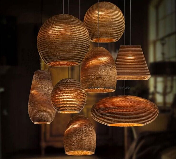 Lights Recycled Pendant