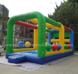 Adults Sports Inflatable Gauntlet Challenge Inflatable Wipeout Ball     Adults sports Inflatable Gauntlet Challenge Inflatable Wipeout Ball games  Interactive Wrecking Ball Jousting