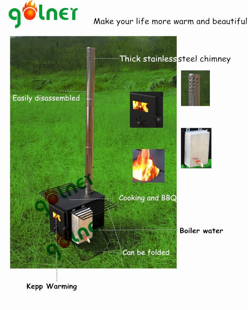 Stainless Steel Wood Burning Stove German Wood Stoves Mini