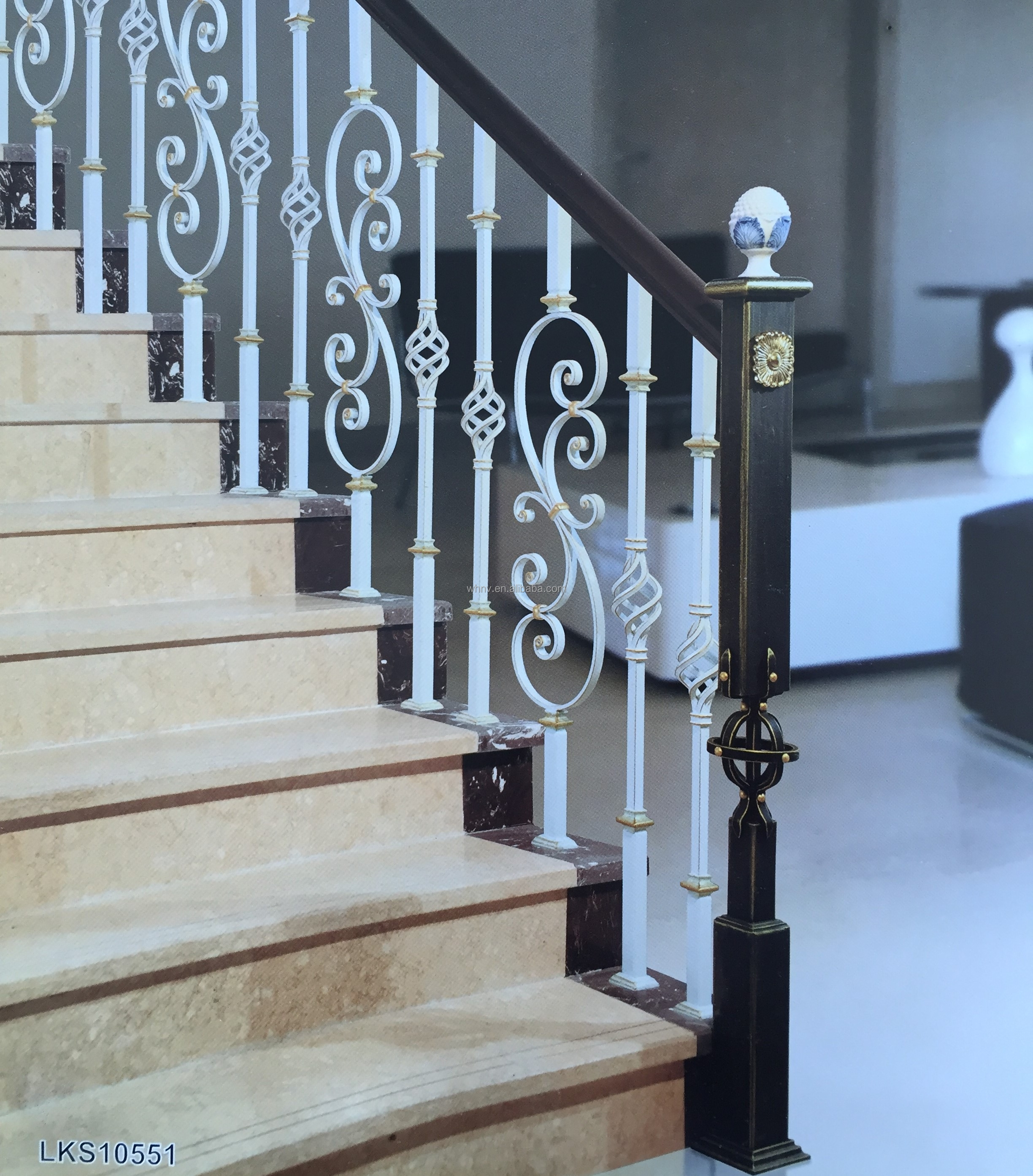 Factory Sale Premium Indoor Stair Steel Railings Stair Wrought | Metal Handrails For Sale | Balcony Railing | Iron Balusters | Stainless Steel | Stair | Cast Iron