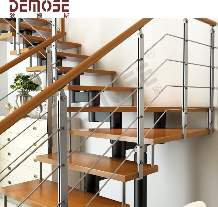 Making Stairs Steel Timber Staircase Buy Teak Staircase Timber   Steel And Timber Stairs   90 Degree External   Architectural   Modern   Contemporary   House