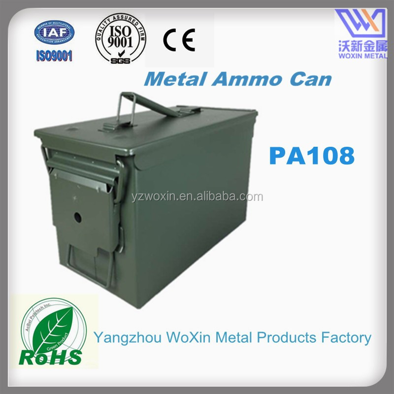 Military Surplus Steel Storage Box