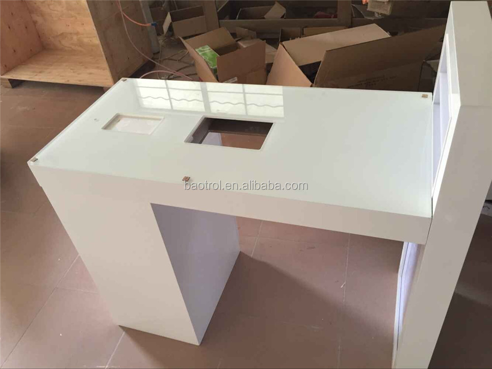 Luxurious Modern Dryer Manicure Nail Table Buy White
