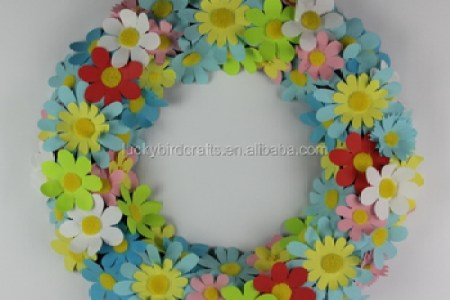 Paper flower wreath new top artists 2018 top artists 2018 crepe paper wreaths lia griffith crepe paper anemone wreath video crepe paper flowers tissue paper flower wreath what can we do with paper and glue tissue mightylinksfo