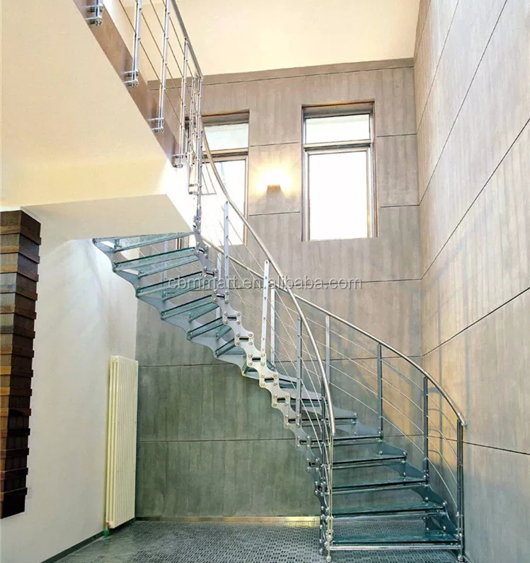 Indoor Spiral Stair With Stainless Steel Railing Buy Stair Railing   Steel Railing For Steps   Modular   Wooden   Terrace   Modern Farmhouse   Loha