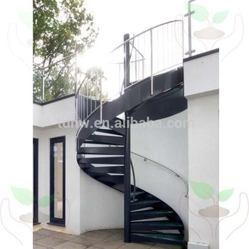 External Used Metal Spiral Staircase With Glass Tread And   Second Hand Spiral Staircase For Sale   Design   Simple   Vertical   Stairway   Easy