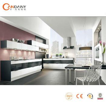 Aktuelle Neuen Design Pvc Küchenschrank,Acrylglas Küche - Buy