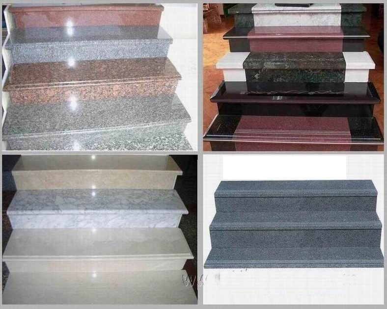Marble Staircase Customized Outdoor Stone Tiles For Stairs | Granite Stone Steps Outdoor