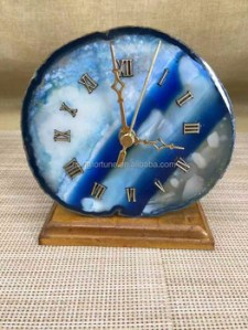 Unique Luxury Agate Decorative Table Clocks   Buy Decorative Table     Unique luxury agate decorative table clocks