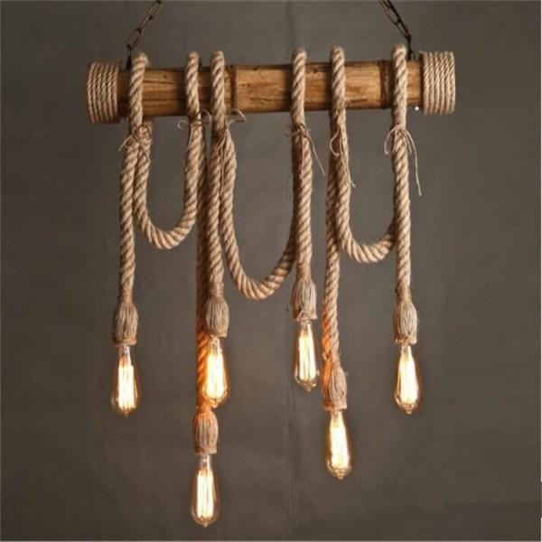 pendant lighting rope # 51
