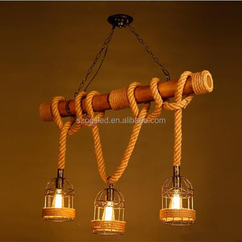 pendant lighting with rope # 25