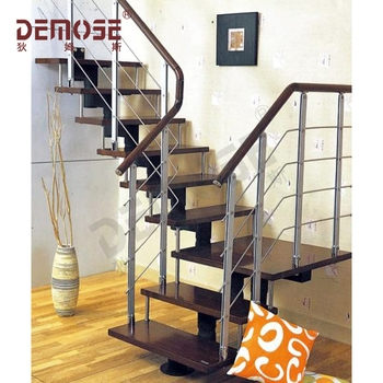 Space Saving Wood Tread Spiral Staircase With Single Stringer   Space Saving Spiral Staircase   Child Friendly   Do It Yourself Diy   Metal   Duplex House   Loft