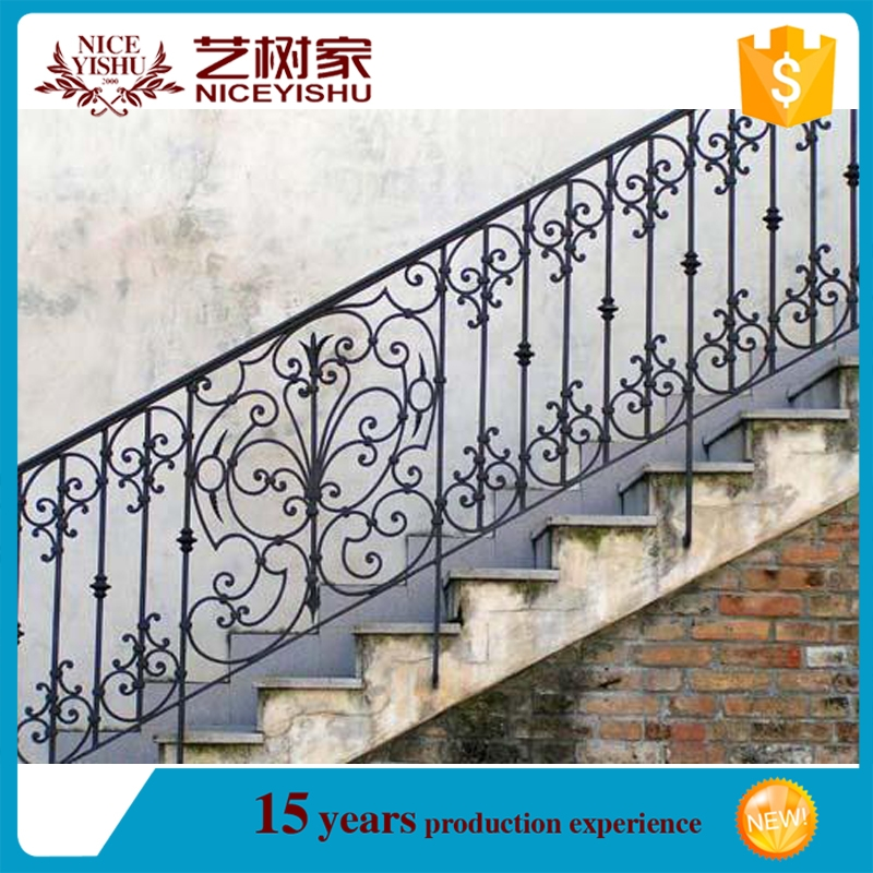 Hot Sale Newest Exterior Low Prices Wrought Iron Handrails For   Wrought Iron Handrails For Outside Steps   Stair Covering   Front Porch   Metal