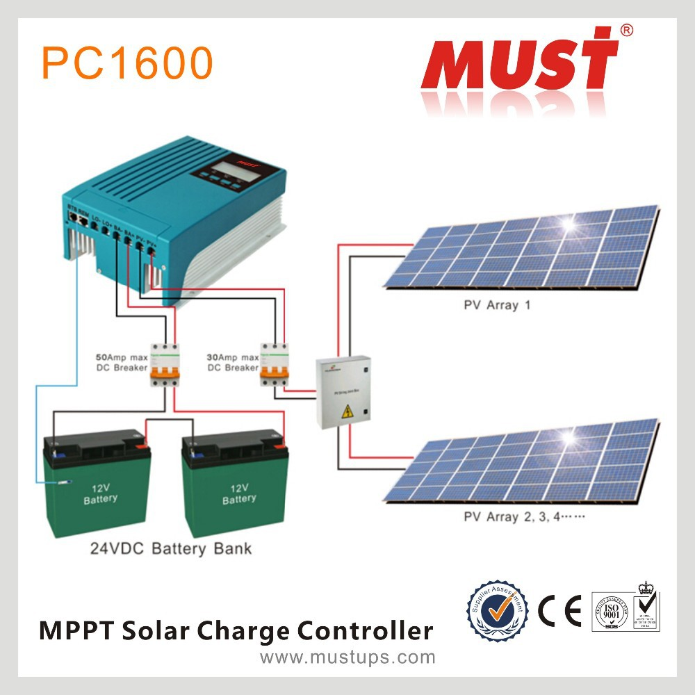 Mppt Charge Controller Circuit 12v Solar