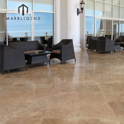 noce travertine honed filled Source quality noce travertine honed     wholesale flooring tile filled Honed italian Noce marble travertine tiles