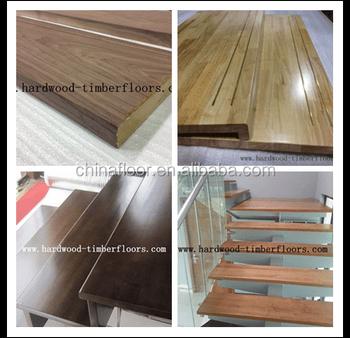 Foshan Manufacturer Low Price Hardwood Stair Tread View Hardwood | Hardwood Floor Stair Treads | Wooden | Hand Scraped | Redwood | Pergo Floor | Laminate Flooring