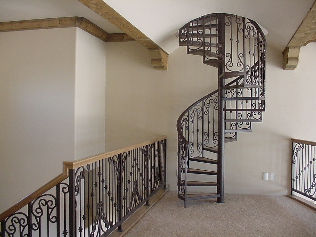Decorative Wrought Iron Spiral Staircase Buy Modern Spiral   Wrought Iron Circular Staircase   Wooden   Living Room   Artistic   Rail   Modern