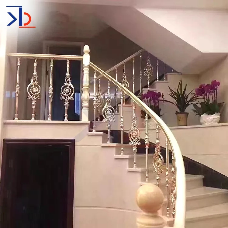 Metal Stair Handrail Balusters For Sale Rose Gold Stair Railing | Metal Handrails For Sale | Balcony Railing | Iron Balusters | Stainless Steel | Stair | Cast Iron