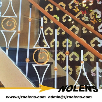 Simple Interior Cast Iron Railings Design Wrought Iron Hand | Cast Iron Stair Railing | Residential | Horizontal | Chrome Picket Interior | Custom | Iron Baluster