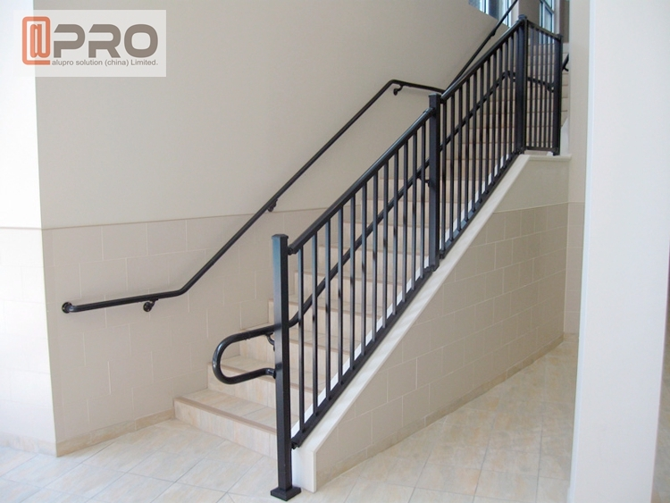 Aluminium Glass Railing Lowes Handrails For Outdoor Steps For Sale | Outdoor Stair Railing Lowes | Winchester | Concrete | Wrought Iron Railings | Stair Treads | Matte Black