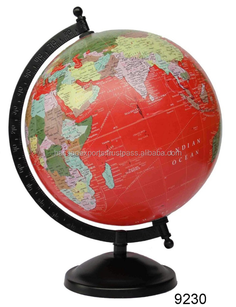 world globes on stand - 561×800