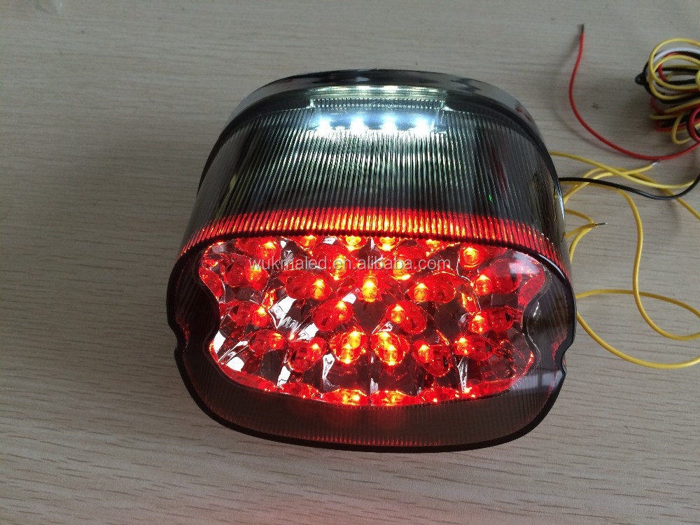 Harley Brake Amp Turn Signal Amp Tail Light Led Integrated For