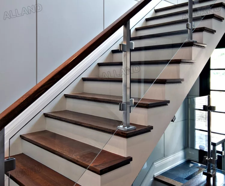 Diy Fiberglass Staircase Railing Stair Railing Tempered Glass   Diy Glass Stair Railing   Staircase Makeover   Modern Stair Parts   Floating Stairs   Loft Railing   Wood