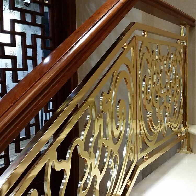 Interior Prefab Art Handrail Aluminum Indoor Stair Railings For | Aluminum Stair Railings Interior | Wrought Iron | Iron Staircase | Cable | Outdoor | Handrail