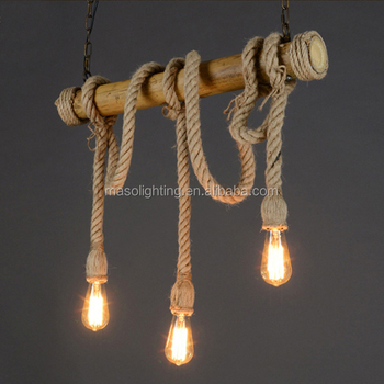 pendant lighting with rope # 72
