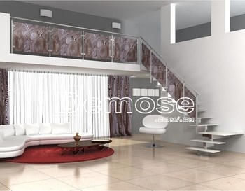 Duplex House Carved Wood Staircase View Duplex House Staircase | Duplex Living Room With Stairs | Modern | Single Room | Duplex Step | Indoor | Balcony