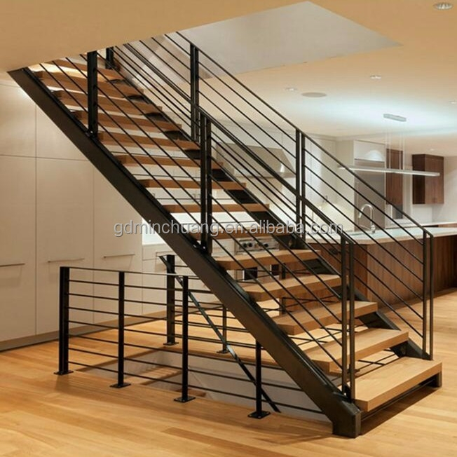 Genuine Material Steel Stringer Timber Treads Staircase Buy   Steel And Timber Stairs   90 Degree External   Architectural   Modern   Contemporary   House