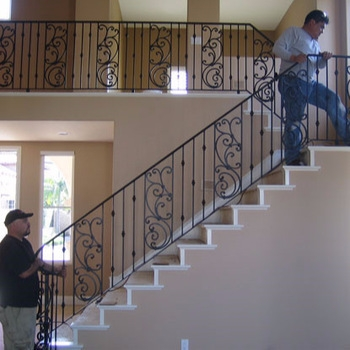 Customized Indoor Outdoor Wrought Iron Balcony Stair Railing | Iron Stairs Design Outdoor | Victorian | Curved Staircase Carpet | Cast Iron | Baluster Curved Stylish Overview Stair | Build Outdoor Stair