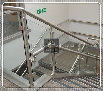 Modern House Stainless Steel Railing Designs Glass Railing For | Stainless Steel Handrail With Glass | Balustrade | Steel Railing | Price | Aged Polished Steel | Wood