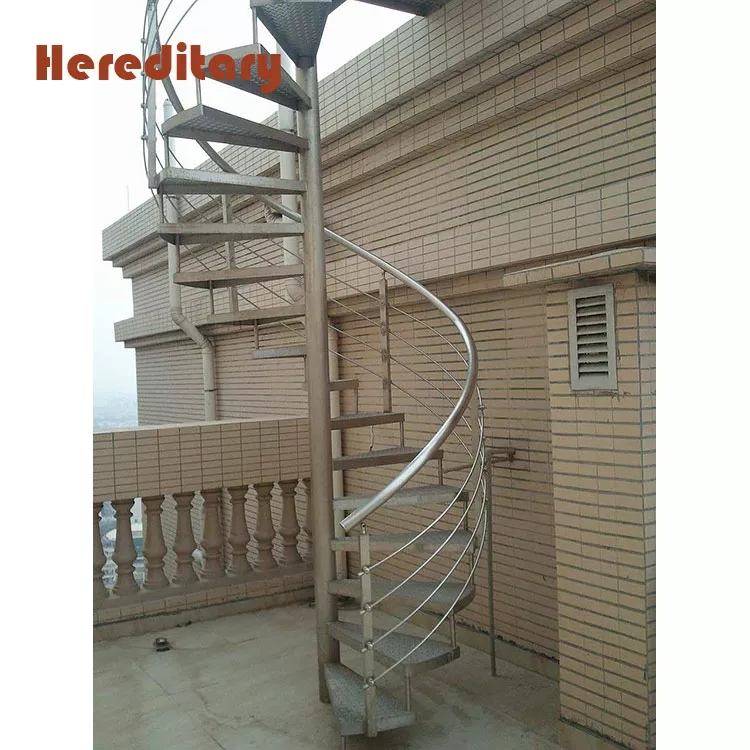 316 Stainless Steel Pipe Rialing Spiral Stairs For Outdoor Stair   Outdoor Spiral Staircase Lowes   Treads Spiral   Wood Treads   Arke Eureka   Glass Railings   Slip Stair
