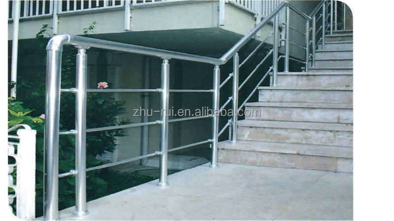 Anodizing Aluminum Stainless Steel Balcony Railing Designs Balcony   Aluminum Handrails For Outdoor Steps   Railing Systems