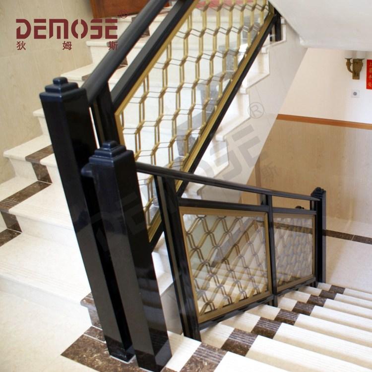 Simple Wrought Iron Interior Stair Railing Design Buy Interior | Stair Railing Designs Interior | Exterior | Creative | Antique | Scandinavian | Rod Iron