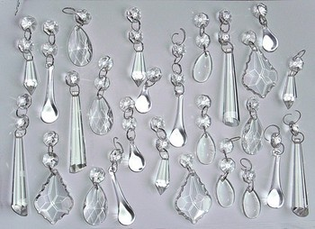 crystal chandelier drops # 1