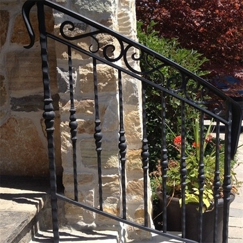 Exterior Handrail Lowes Wrought Iron Railing Stair Railing Buy   Outdoor Spiral Staircase Lowes   Kits Lowes   Curved Staircase   Lowes Com   Dolle Calgary   Handrail