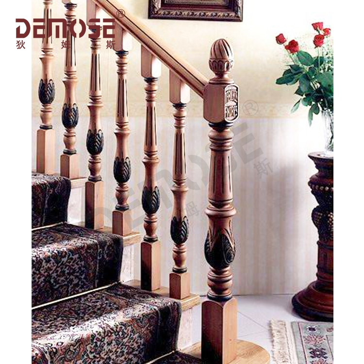 Interior Round Wood Stair Railings   Wood Stairs And Railings   New   Stairway   Architectural Modern Wood Stair   Color   Basement