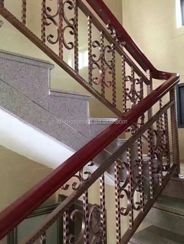 Malaysia Style Stainless Steel Stair Railing Designs For House   Stairs Railing Designs In Steel   Caramel   Glass   Iron Spindle Railing   Square   Solid Wood