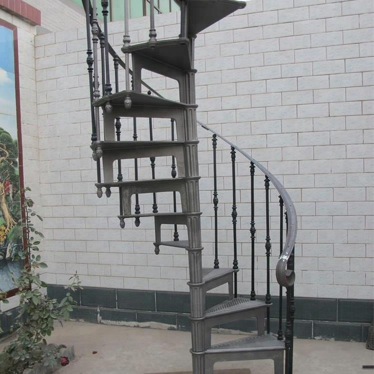 Easily Assembled Cast Iron Spiral Stair Buy Cast Iron Spiral | Wrought Iron Spiral Staircase For Sale | Architectural Antiques | Stair Parts | Iron Balusters | Alibaba | Black Cast