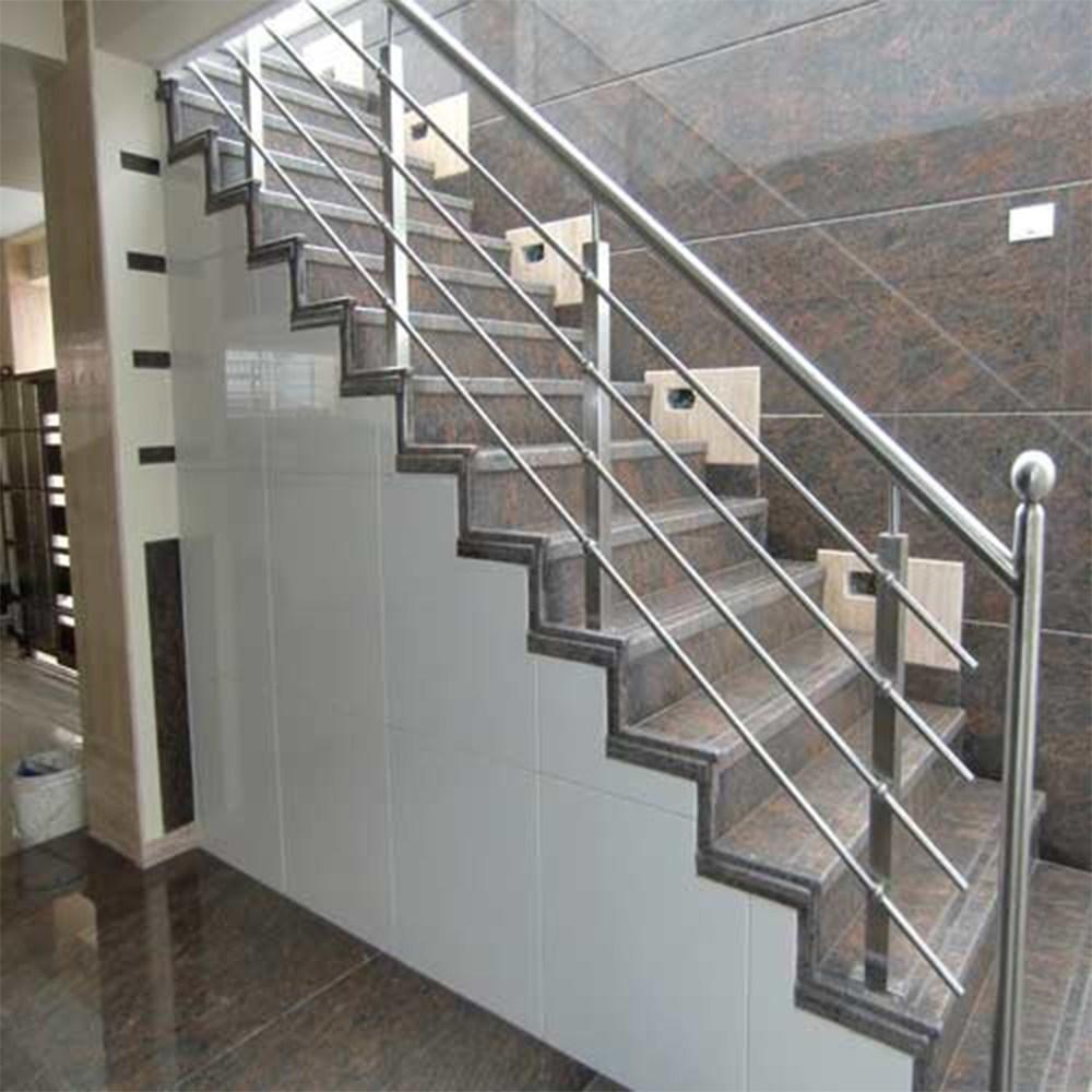 Chian Factory Modern Balcony Steel Stair Railing Designs Buy   Stair Railing Design Modern   Exterior Irregular Stair   Luxury   Round   Interior   Handrail