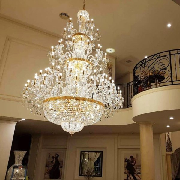 crystal chandelier traditional # 15