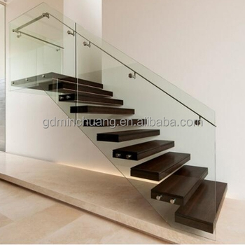 Wall Mounted Invisible Stringer Floating Stairs Wood Stair Treads   Wood Stair Treads For Sale   White Oak Stair Parts   Prefinished   Carpet Stair   Risers   Unfinished Pine